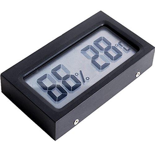 Mini Digital LCD Taktgeber Temperatur und Feuchtigkeitsmessgerät Genaue Neue Thermometer Indoor Hygrometer
