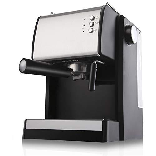 Hebry Kaffeemaschine Espresso, Italienische Kaffeemaschine Kommerzielle Pumpe Typ Kleine Automatische Frisch Gemahlenen Kaffee Milchschaum Maschine Nach Hause