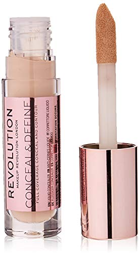 Makeup Revolution London Conceal and Define Concealer - C2, 3,4 ml