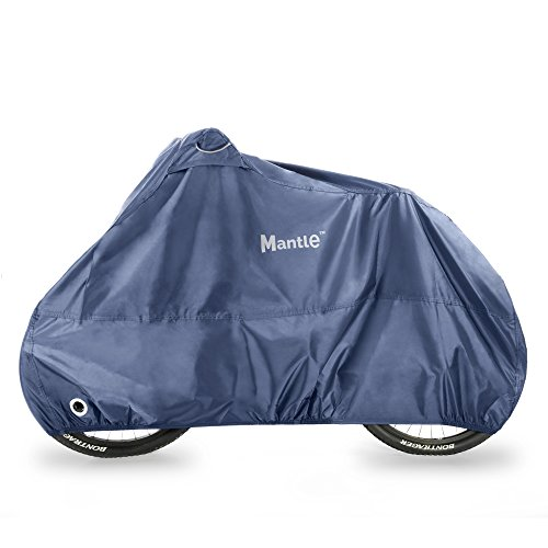 Waterproof Bike Cover for Outdoor Storage, Mantle 210D Oxford Fabric,...
