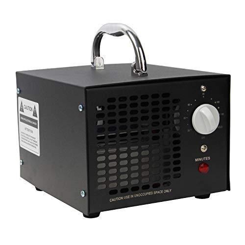 VINGO 10.000mg/Std Ozon Luftreiniger Kommerzieller Ozonisator UV-Sterilisation mit Timer Formaldehyd entfernen für Autos, Schlafzimmern, Hotels, Küche