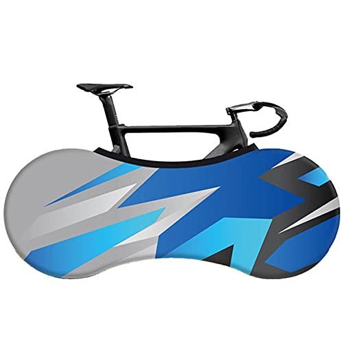 TASJS Cubierta de Bicicleta Tela portátil Interior Elástica MTB Accesorios de Ciclismo de protección contra Polvo de protección de neumáticos para Bicicletas de Carretera 26'-28' (Color : 2)