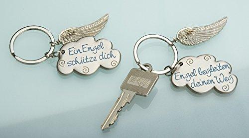 Schlüsselanhänger Gilde Schutzengel Flügel mit Wolke Engel begleiten deinen Weg