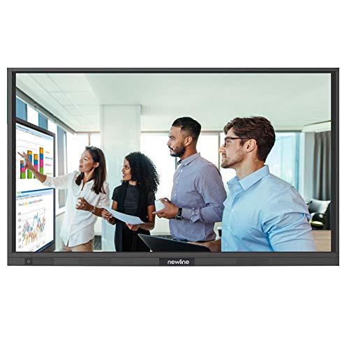 """NewLine RS+ 4K Monitor Interactivo de 75"""" para Sala de Reuniones y Aulas de formación"""
