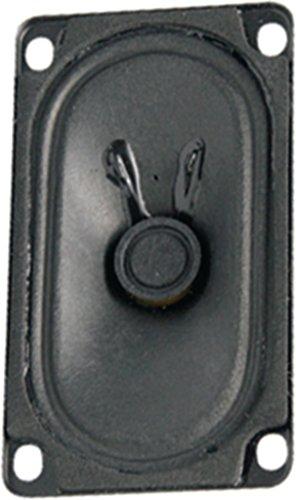 Visaton VS-SC5.9ND/8 Lautsprecher (1 Kanal, mit Kabel, Terminal, 3W, 150-17.000Hz, Schwarz)