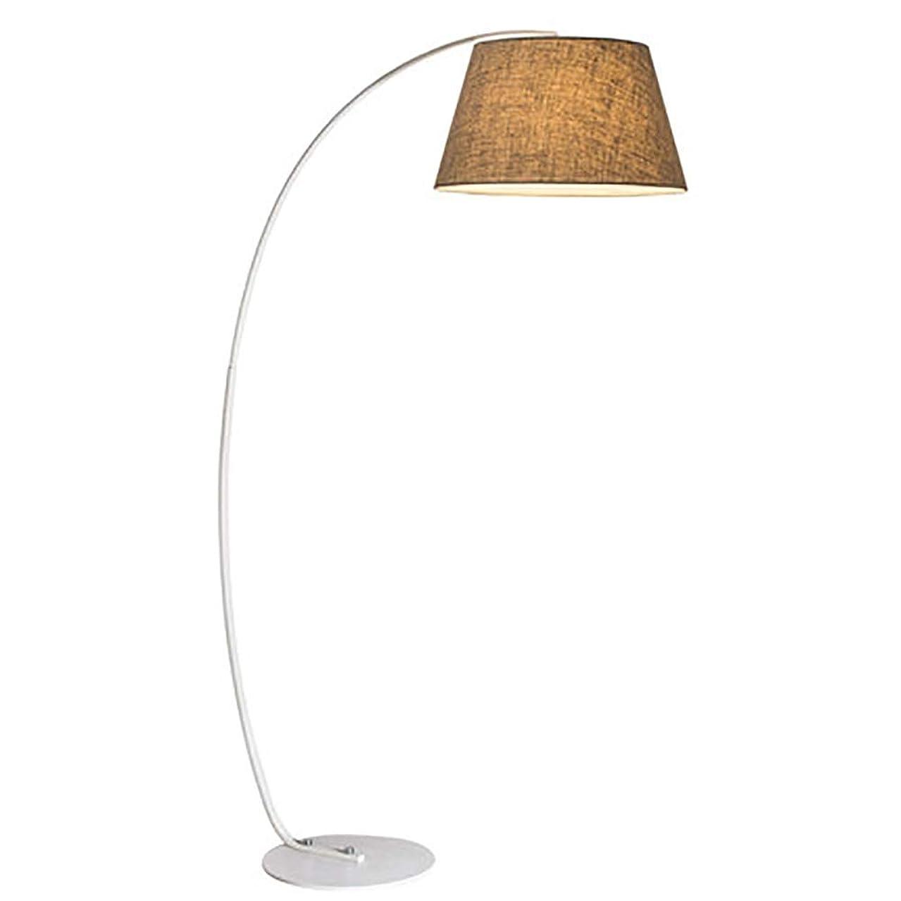 SGKJJ Floor Lamp- Fixture Uplight Lamp, Black/White Incandescent Lamp, Brushed Steel Lamp Oil Rubbed Bronze -185 Floor lamp (Color : B)