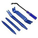 Moly Magnolia Auto Trim Removal Tool Set, Car Panel Door Window Tools Kit,Auto Clip Fastener Remover Pry Tool Kit (Blue1)