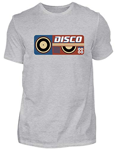 Camiseta para Hombre Disco DJ Retro Vintage Disco Vinilo Party – Diseño...
