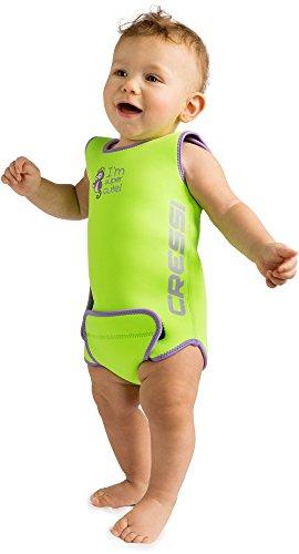 Cressi Infant Baby Warmer - Kinder Neopren Schwimmanzug, Grün, 6/12 Monate