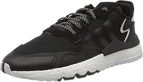 adidas Herren Nite Jogger Laufschuh, Core Black/Core Black/Carbon, 43 1/3 EU