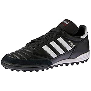 adidas Performance Men's MUNDIAL TEAM Athletic Shoe, black/white/red, 11 M US