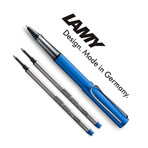 Lamy AL-Star Tintenroller Ozeanblau + 2 Ersatzminen