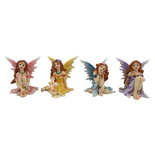 Nemesis Now 6cm Figurine Fairies Promises-Figura Decorativa (6 cm), Resina, Multicolor, Talla única