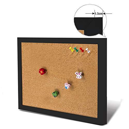 ROYAL STAR TY Cork Board Kleurrijke MDF Houten Frame Foto's Bulletin Board Bericht Memo Board 30 * 40cm Kurk Pin Boards voor Thuis Met Accessoires