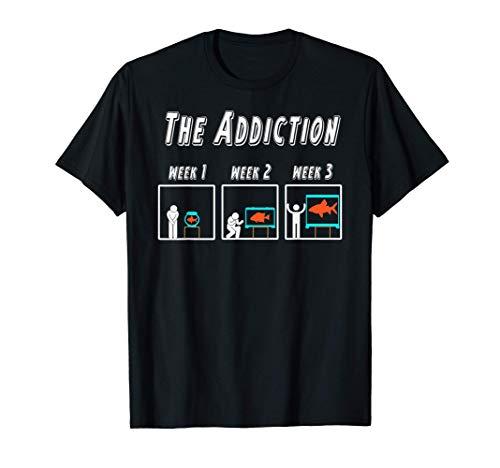 Witziges Aquarianer T-shirt für Aquarium und Zierfisch Fans T-Shirt