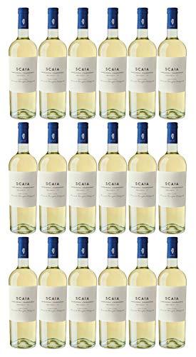 SCAIA Bianca Garganega - Chardonnay, Veneto IGT, Tenuta S. Antonio, Jahrgang 2020 (18 x 0,75 l)