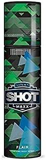 Layer'r Shot Maxx Perfume Body Spray, Flair, 125ml
