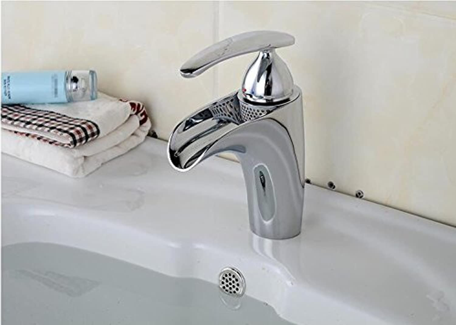 Ytdzsw Contemporary Bathroom Sink Single Lever Faucet Bathroom Faucet Hot And Cold Water Bathroom Faucet