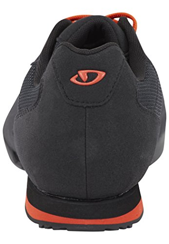 Giro Rumble Vr Mtb Zapatos de Bicicleta de montaña Hombre, Multicolor (Black/Glowing Red 000), 46 EU (11 UK)