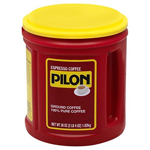 Pilon Espresso Coffee, 36 Ounce (Pack of 6)