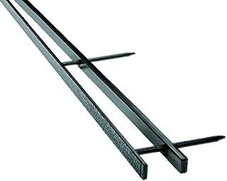 GBC VeloBind Binding Spines, 4 Pin Spines, 200 Sheet Capacity, Black, 25/Pack, 4 Packs/Case, 1 Case (9741630CS)
