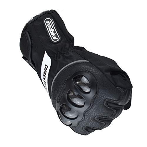 Madbike Motorrad-Handschuhe, wasserdicht mit Karbonfaserschutz - 3