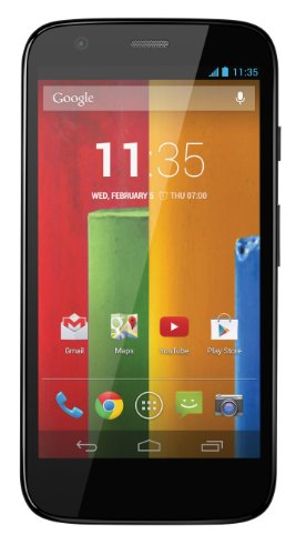 Motorola Moto G (1st Gen) XT1032 8GB Factory Unlocked Global GSM Quad-Core Smartphone - Black