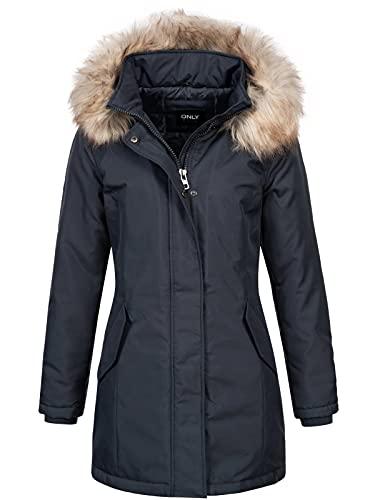 ONLY Damen Winterjacke Katy 15156573 India Ink S