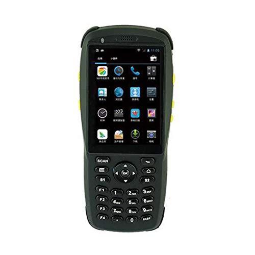 Scanner de code-barres sans fil de poche d'entrepôt avec Android 5,1 OS, scanner infrarouge 2D, lecteur NFC, écran tactile, pavé numérique support WiFi BT mobile terminal