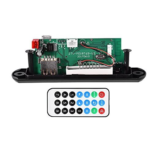 12 V Decodificador de FM Bluetooth MP3 WMA Módulo de decodificador Soporte AUX TF Tarjeta SD USB Radio Interior del Coche Accesorios