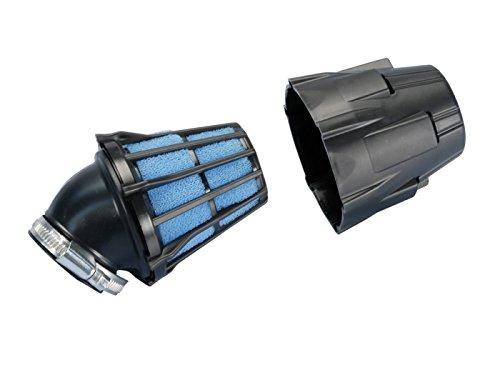 Luftfilter Polini Blue Air Box 32mm 30° schwarz-blau