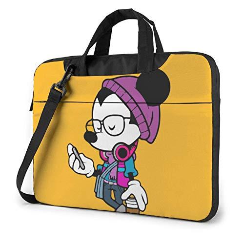 Mouse Laptop Shoulder Bag,Shockproof Slim Computer Carry Case 13'/14'/15.6'