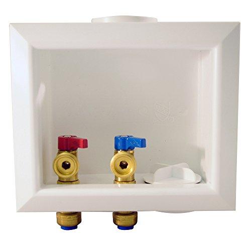 Tectite FSBBOXWM Outlet Box, White