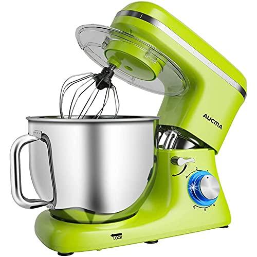 Aucma Knetmaschine Küchenmaschine, 7L...