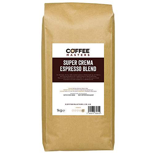 Coffee Masters Super Crema Espresso Coffee Beans