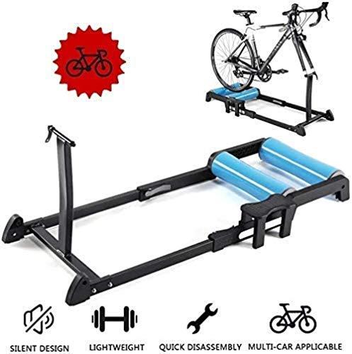 Woodtree Rodillo: Interior Bicicleta Plegable Entrenador de Ciclismo Indoor Ajustable del Rodillo...