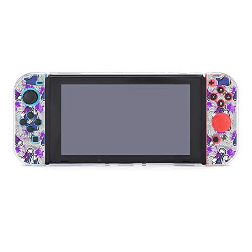 Hülle für Nintendo Switch Hipsters Sneaker Fünfteiliges Set Schutzhülle Case Kompatibel mit Nintendo Switch Spielekonsole