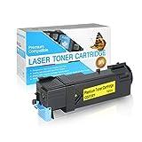 USA Advantage Compatible Toner Cartridge Replacement for Dell 2130/2135 / 330-1387/330-1391/330-1418/330-1438 / FM066 / P239C / T104C / T108C (Yellow,1 Pack)