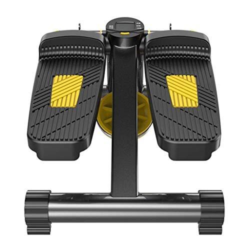 ZTKBG Aerobic-trainingsmachine, mini, gewichtsslot, indoor sport, pedaalmachine, slaapkamer, mannen en vrouwen, stille voetmachine, dunne been, pedaalmachine