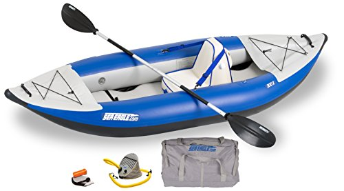 Great Deal! Sea Eagle 300x Inflatable Explorer Kayak Deluxe Package
