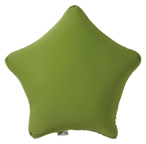 Moycor 803400 Cojín Estrella Nylon Verde 35x35x15 cm