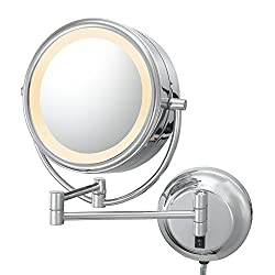 Best makeup mirrors of 2018 reviews mirrorank as beautiful as it is powerful this studio grade lighted makeup mirror is sure to bring quality elegance and luxury to both your beauty experience aloadofball Gallery