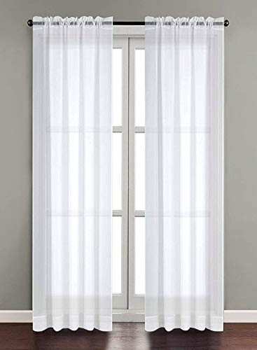 2 panel sheer curtains - 5