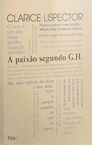 A paixão segundo G H - Edição comemorativa cinquenta anos