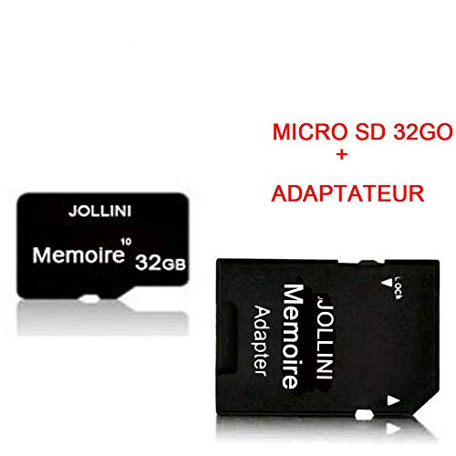 Samsung Galaxy S10 (6,1 inch) Micro SD geheugenkaart 32GB Class 10 + SD-adapter Jollini®