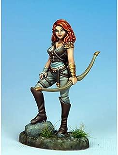 Female Archer II Miniature Visions In Fantasy Dark Sword Miniatures