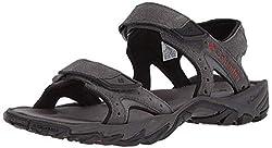 top rated SANTIAM Men's Sports Sandals 2 Strap Columbia Dark Gray Rusty 10 US Standard Size 2021