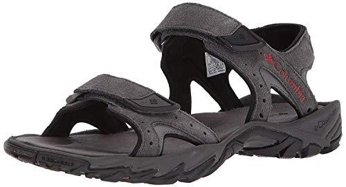 top rated SANTIAM Men's Sports Sandals 2 Strap Columbia Dark Gray Rusty 10 US Standard Size 2020
