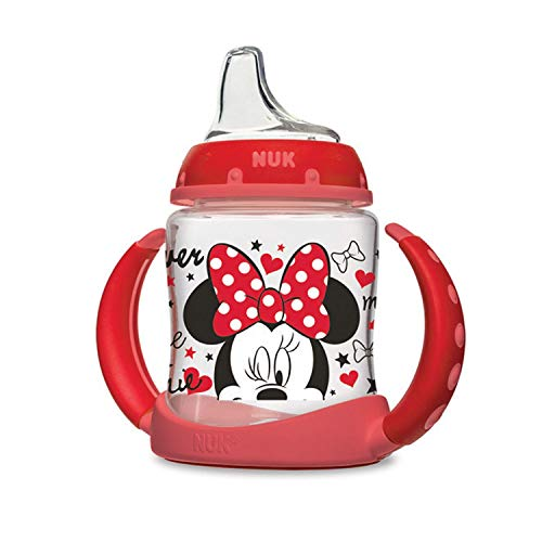 NUK Disney Learner Sippy Cup (1 pk 5 Ounce, Red Minnie)