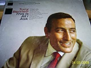 Tony Bennett: This Is All I Ask (Columbia Special Products Reissue) [VINYL LP] [STEREO]